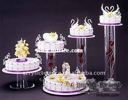 Wedding Cake Stand 5pcs.