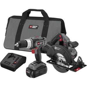 Porter Cable 18-Volt Cordless 2-Tool Combo Kit