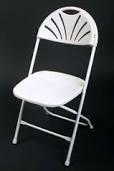White Flare Chair
