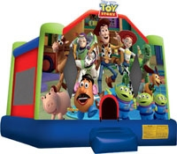 Toy Story Theme Bounce House