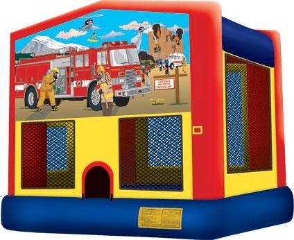 Module Bounce House, Firemen