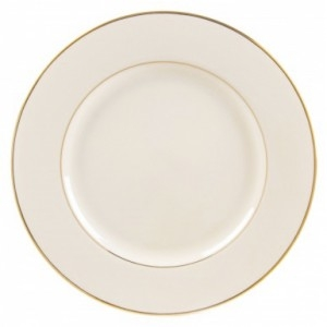 Gold Rim Bread and Butter Plate