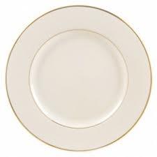 Gold Rim Salad Plate