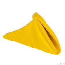 Napkin - Yellow