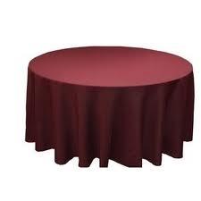 Tablecloth - Burgundy Round 96