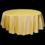 Tablecloth - Gold Round 102