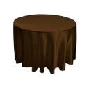 Tablecloth - Chocolate Round 102