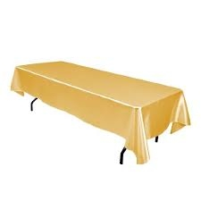 Tablecloth, Gold Long
