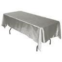 Tablecloth, Silver Long