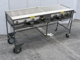 Grill, 2'x5' propane