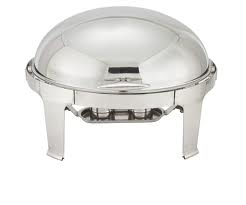 Chafer, 7 Qt. Roll Top Round