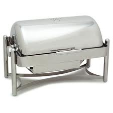 Chafer, 8 Qt. Roll Top Rectangle