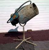 Cement Mixer, Pedestal