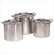 Stock Pots 40qt. and 60qt. w/Cover