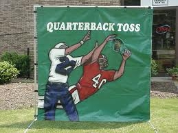 Game, Football Toss Game, Football Toss
