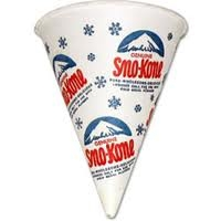 Sno Cone Cones