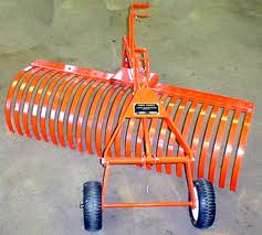 tractor landscape rake rental dethatchers landscape rakes lawn