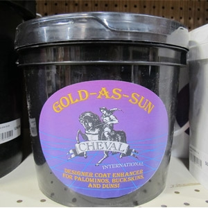Gold as Sun Supplement