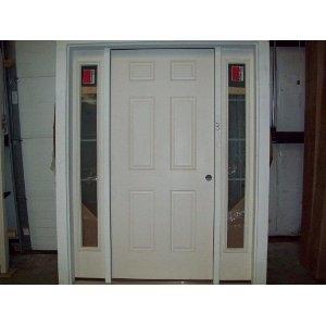 Chace Building Supply Of Connecticut Inc 6 Panel Fiberglass Door Woodst
