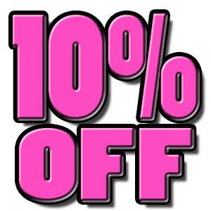10% Off Rental Special