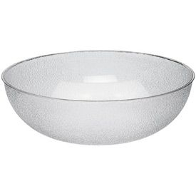 Plastic Pebble Bowl, 6 qt