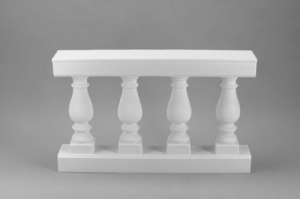 White Wedding Balustrade, 48