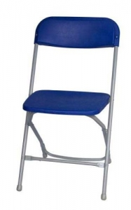 Chair, Blue Folding