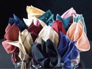 Linen, Colored Dinner Napkins