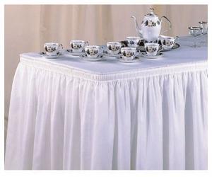 Linen, Table Skirt 21' x 29