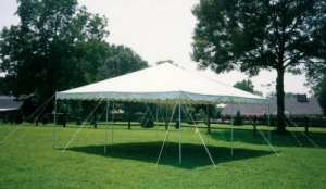 20' x 30' Canopy Pole Tent