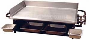 Big John Portable Gas Griddle, 3'