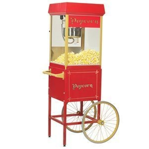Gold Medal Popcorn Machine, Antique Cart - TWO in Stock