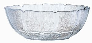 Glass Dinnerware, Bowl, 2 qt