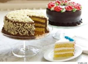 Progressive Pro Glass Cake Stand