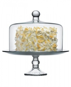 Progressive Pro Glass Cake Stand with Dome
