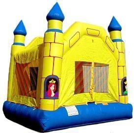 Spacewalk Inflatable Bounce, 15' x 15' Castle