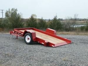 Tilt Trailer, 11' (5,000 lb. capacity)