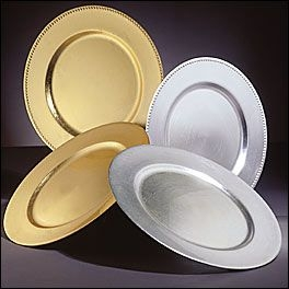 Dinnerware, Charger Plate 12
