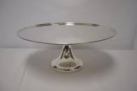 CAKE STAND SILVER