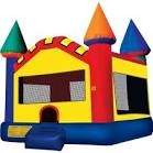 INFLATABLE CASTLE (ORANGE, GREEN, YELLOW, RED AND BLUE)