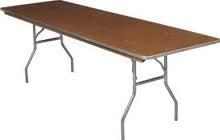 TABLE, 6' RECTANGULAR