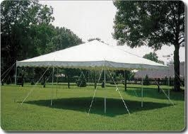 Canopy Pole Tent 15' x 15'