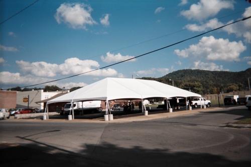 Aztec 40x80 Jumbotrac Frame Tent