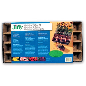Jiffy Strips N Tray 32