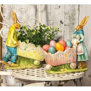New Creative Cottontail Lane Spring Rabbit Pot Holders
