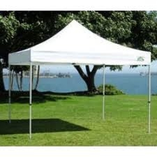 CANOPY TENT, 10X10, WHITE