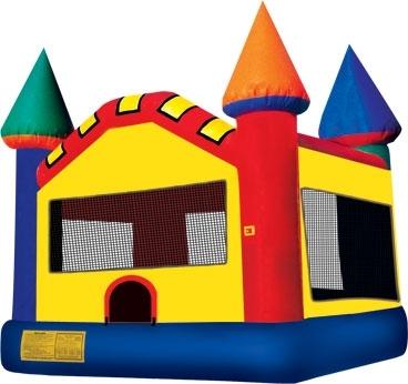 Ninja Jump Inflatable Jump House