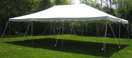 Pole Style Tent, 20 x 30 Canopy