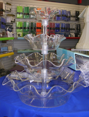 4 Tier Polycarbonate Serving Tray