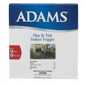 Adams™ Flea & Tick Indoor Fogger, 3-pack of 6 oz. aerosol cans